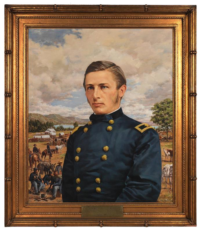 Portrait of General Ranald Slidell MacKenzie (1840-1889), Class of 1859