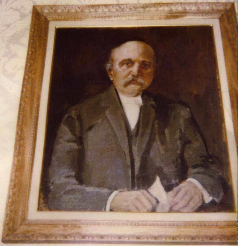 Portrait of James Robert Dunbar, Class of 1871, College Trustee 1900-1915