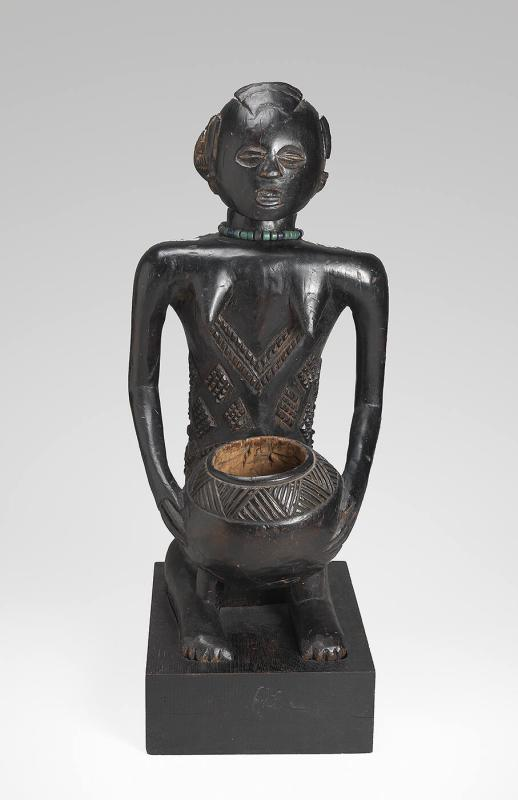 Mboko (figure with bowl)