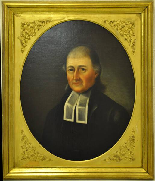 Portrait of Stephen West (1736?-1819), Yale 1755, First Vice-President 1793-1812, Trustee 1793-1812