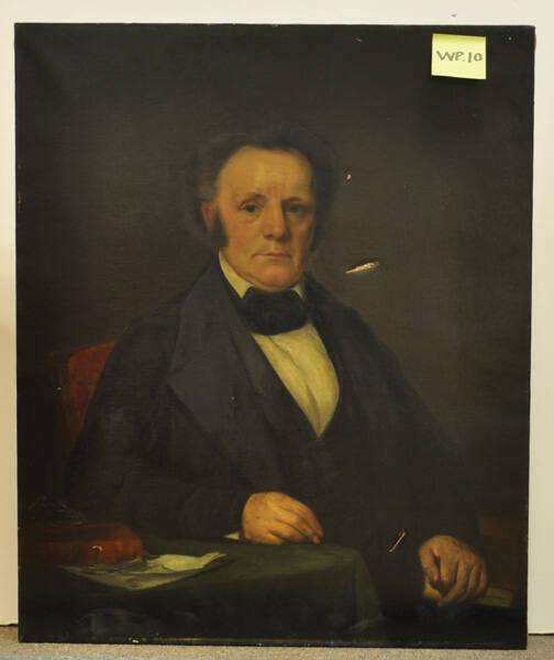 Portrait of Charles Augustus Dewey (1793-1866), Class of 1811, Williams College Trustee 1824-1866 and Secretary 1815-1826