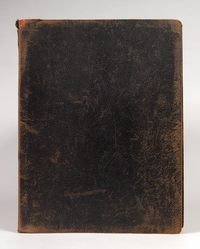Photograph album of works by Maurice & Charles Prendergast