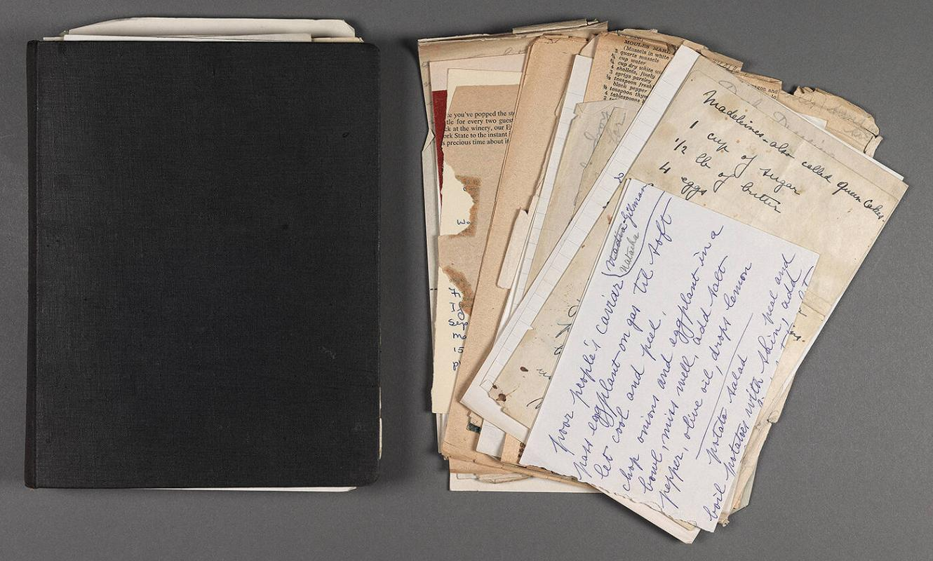 Recipe book (belonged to Eugénie Prendergast)