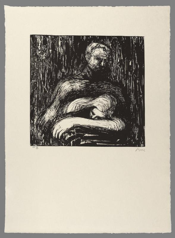 Lullaby from Auden Poems, Moore Lithographs
