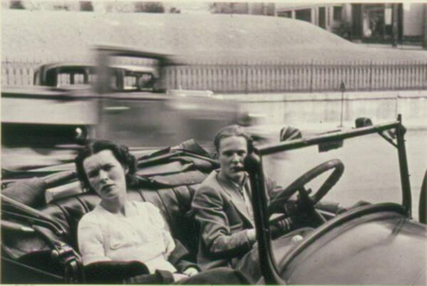 Couple in Car, Ossining, Ny.