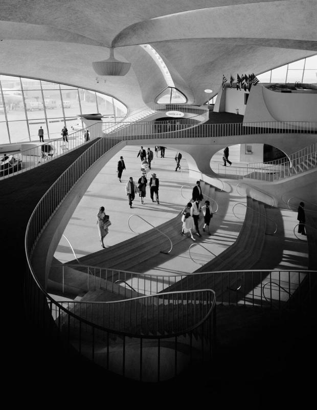 "Eero Saarinen, TWA Terminal (from ""Modern Architecture: Photographs by Ezra Stoller, Palm Press, Inc."")"