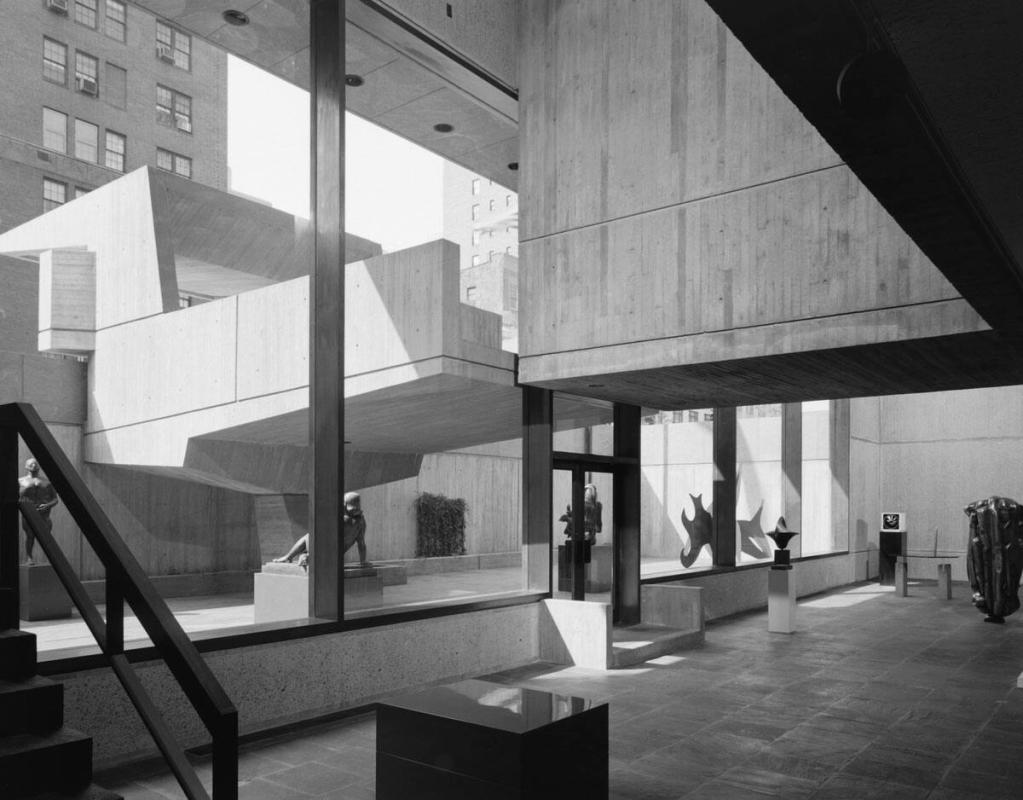 "Breuer, Whitney Museum (from ""Modern Architecture: Photographs by Ezra Stoller, Palm Press, Inc."")"