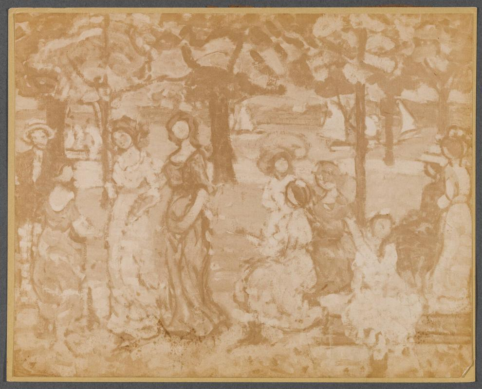 Picnic Grove by Maurice Prendergast