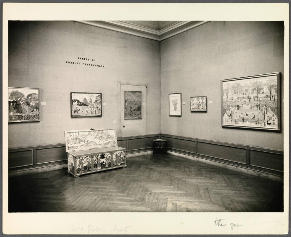 Photographs from Addison Exhibit of works by Maurice Prendergast