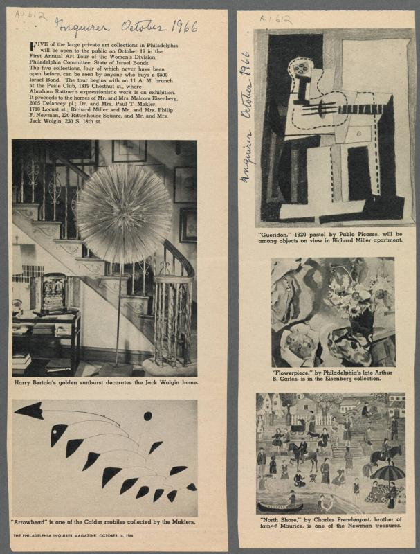 2 page newspaper clipping