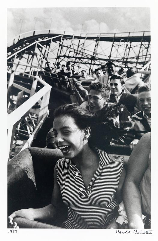 Girl on cyclone (from Decades Four)