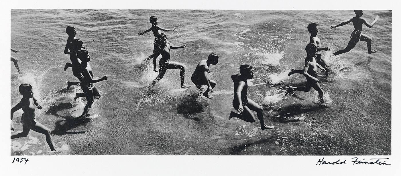 Boys Running into surf (from Decades Four)