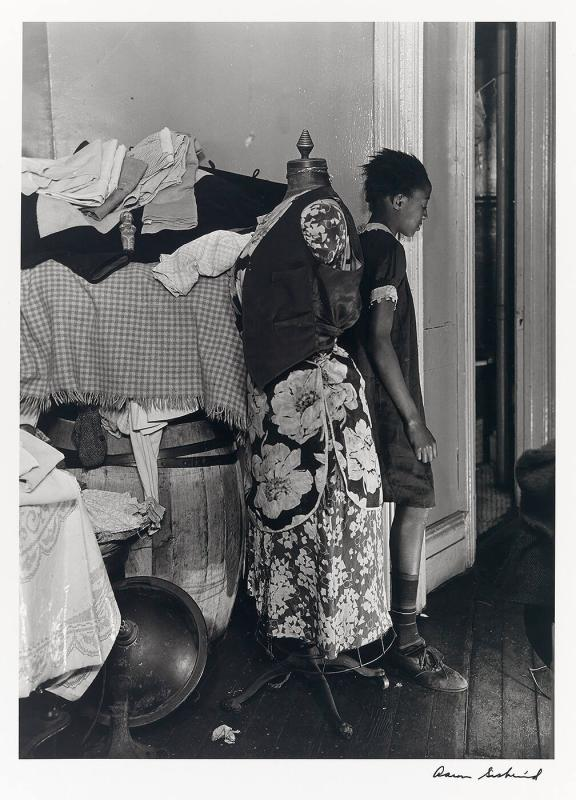 "Girl with Clothes Form (from ""Harlem Document"")"