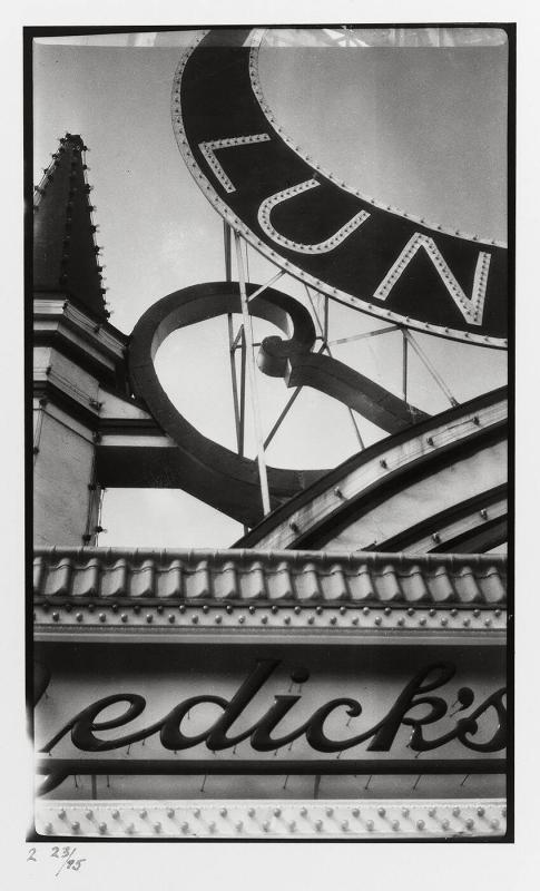 "Luna Park, Coney Island, New York, 1928 (from ""Walker Evans I"")"
