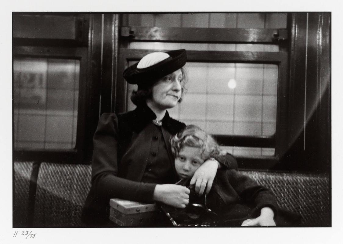 "Subway, New York, 1938 (from ""Walker Evans I"")"