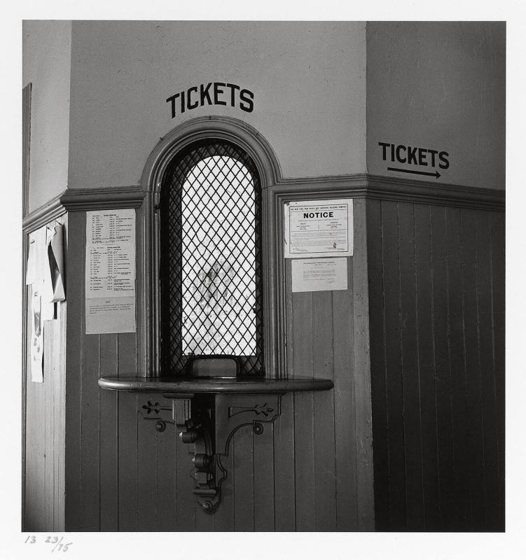 "Kingston Station, Rhode Island, 1953 (from ""Walker Evans I"")"