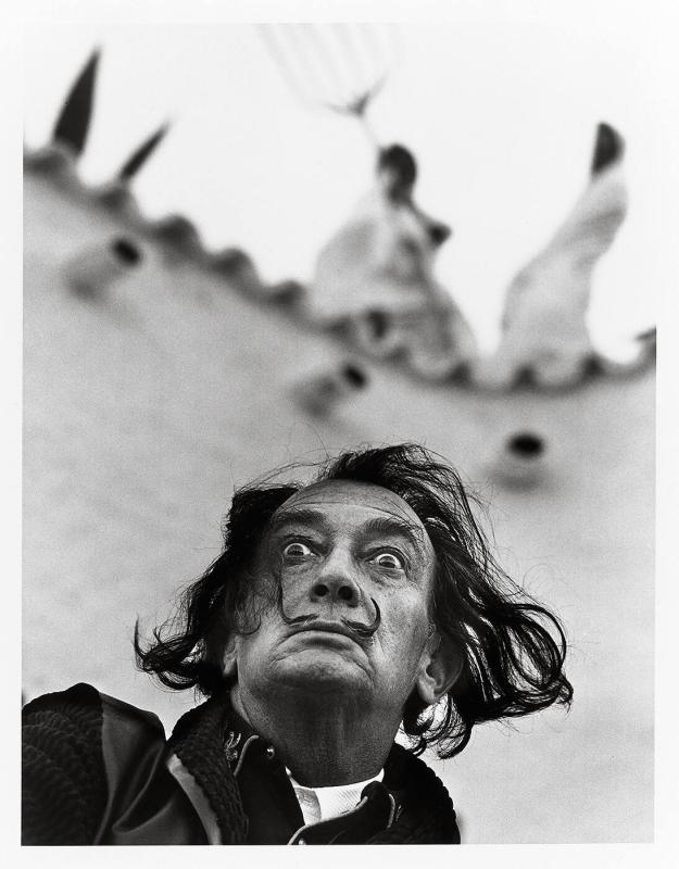 "Dali with Rhinoceros (from ""Halsman/Dali"")"