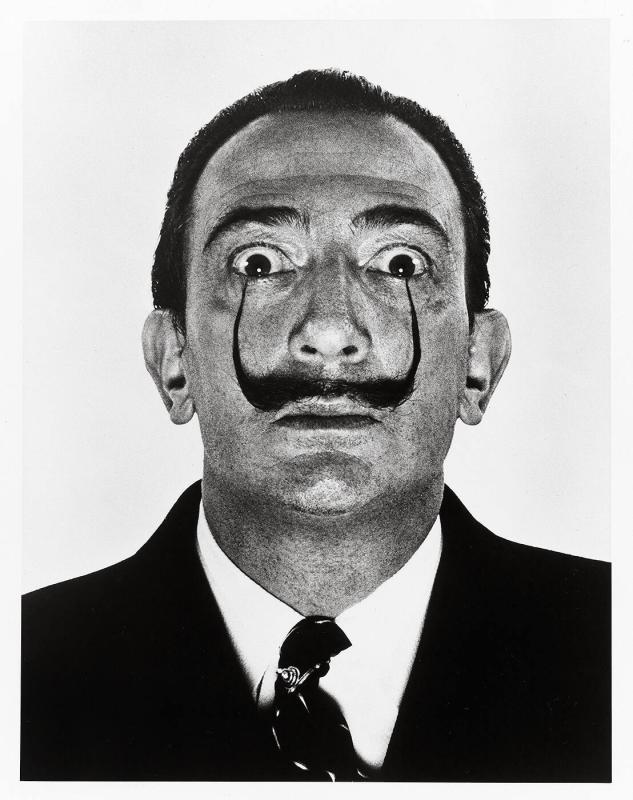 "Dali's Moustache (from ""Halsman/Dali"")"