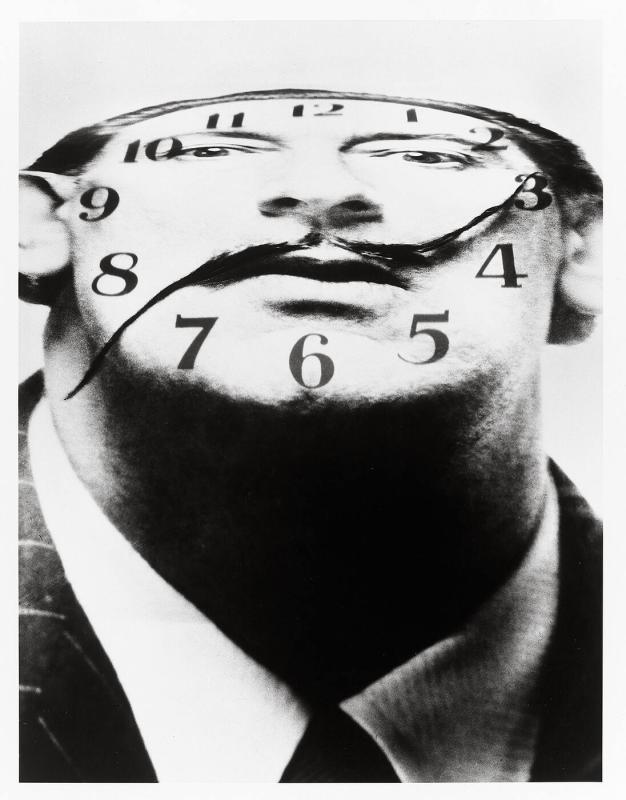 "Dali Clockface (from ""Halsman/Dali"")"