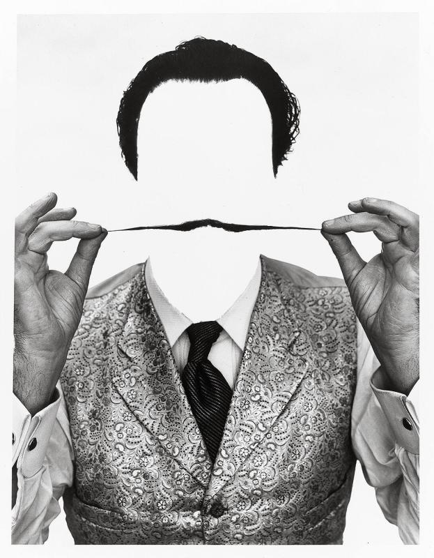 "Invisible Dali (from ""Halsman/Dali"")"