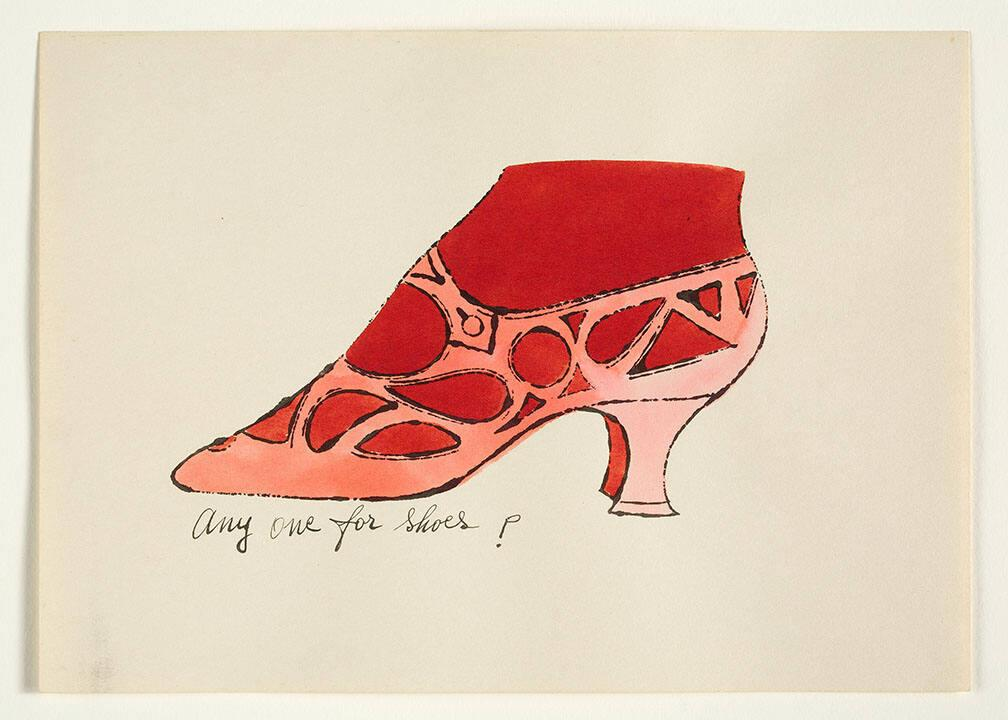 "Any One for Shoes? (from ""À la recherche du shoe perdu"" with poems by Ralph Pomeroy)"