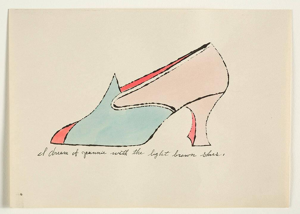 "I Dream of Jeannie with the Light Brown Shoes (from ""À la recherche du shoe perdu"" with poems by Ralph Pomeroy)"