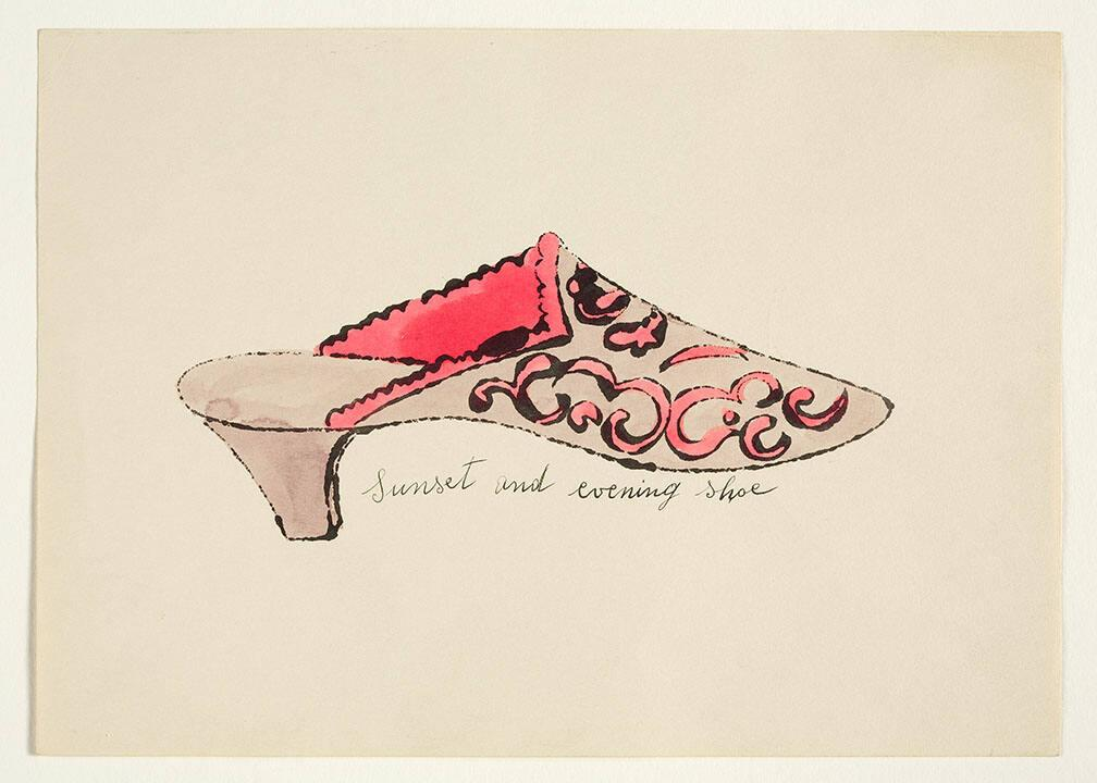 "Sunset and Evening Shoe (from ""À la recherche du shoe perdu"" with poems by Ralph Pomeroy)"