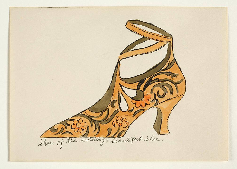 "Shoe of the Evening, Beautiful Shoe (from ""À la recherche du shoe perdu"" with poems by Ralph Pomeroy)"