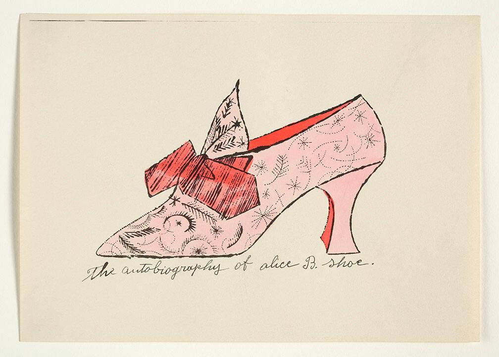 "The Autobiography of Alice B. Shoe (from ""À la recherche du shoe perdu"" with poems by Ralph Pomeroy)"