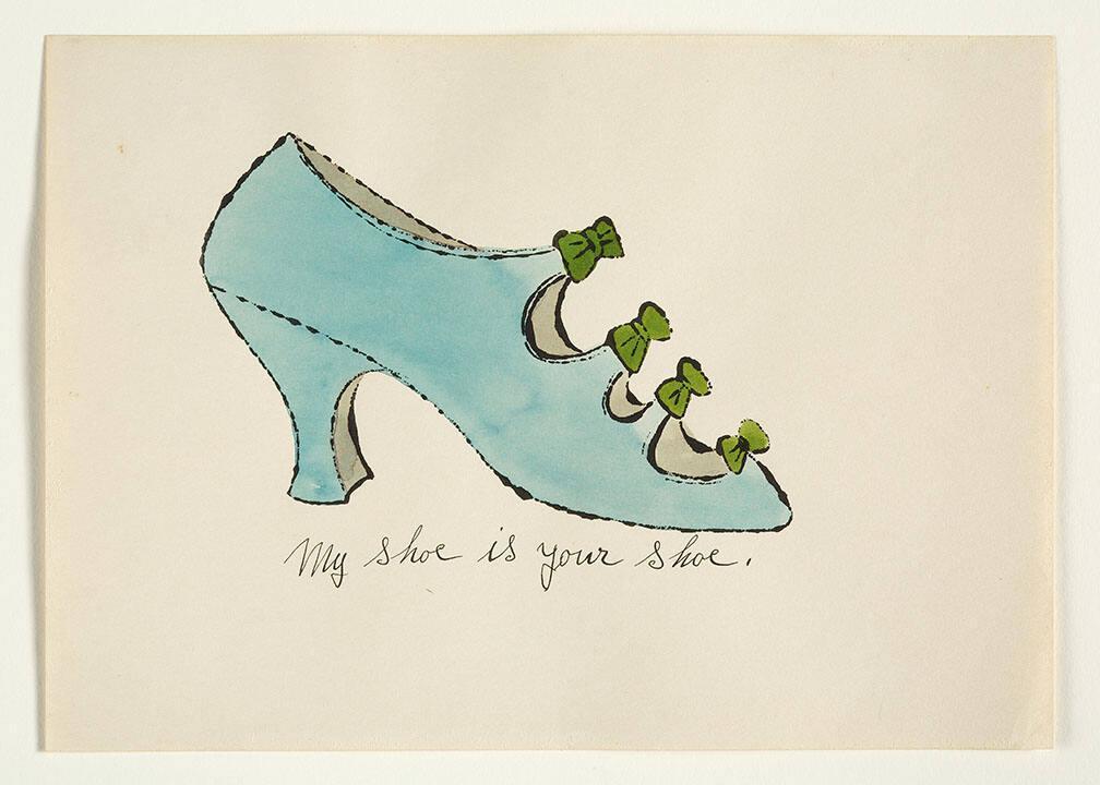 "My Shoe is Your Shoe (from ""À la recherche du shoe perdu"" with poems by Ralph Pomeroy)"