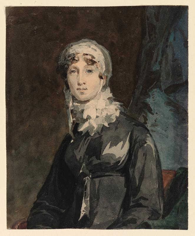 Study for (or copy after) Portrait of Mrs. Thomas Mackie (Joanna Cook)