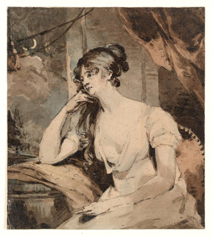 Study for (or copy after) Portrait of an Unidentified Seated Woman