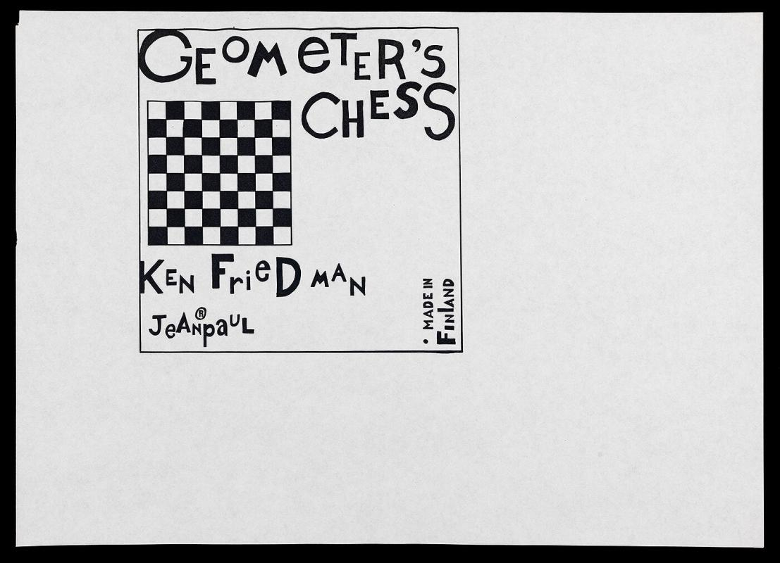 Study for Geometer's Chess