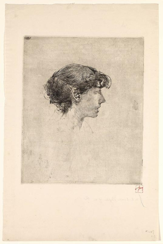 Profile of a Girl