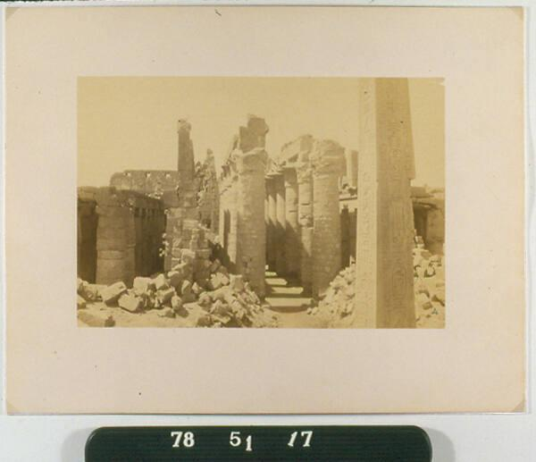 Untitled (Temple of Karnak)