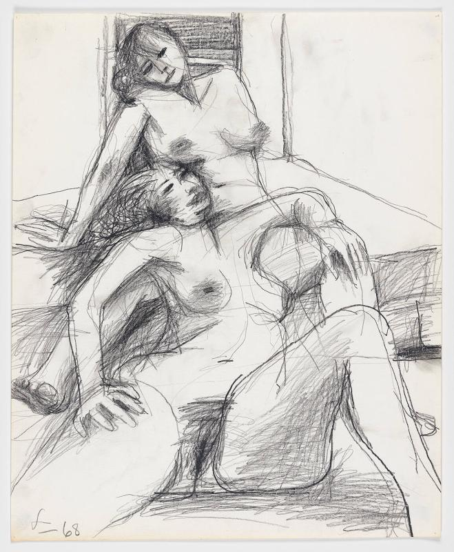 Figure Drawing Series No. 65, 1968