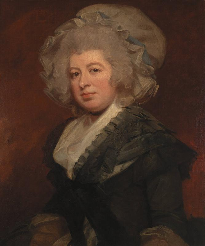 Portrait of Mrs. Frances Graham
