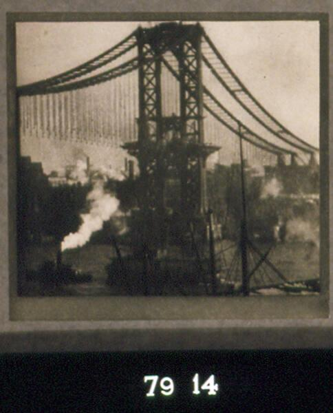 "The Unfinished Bridge (from ""New York Album 1910"")"