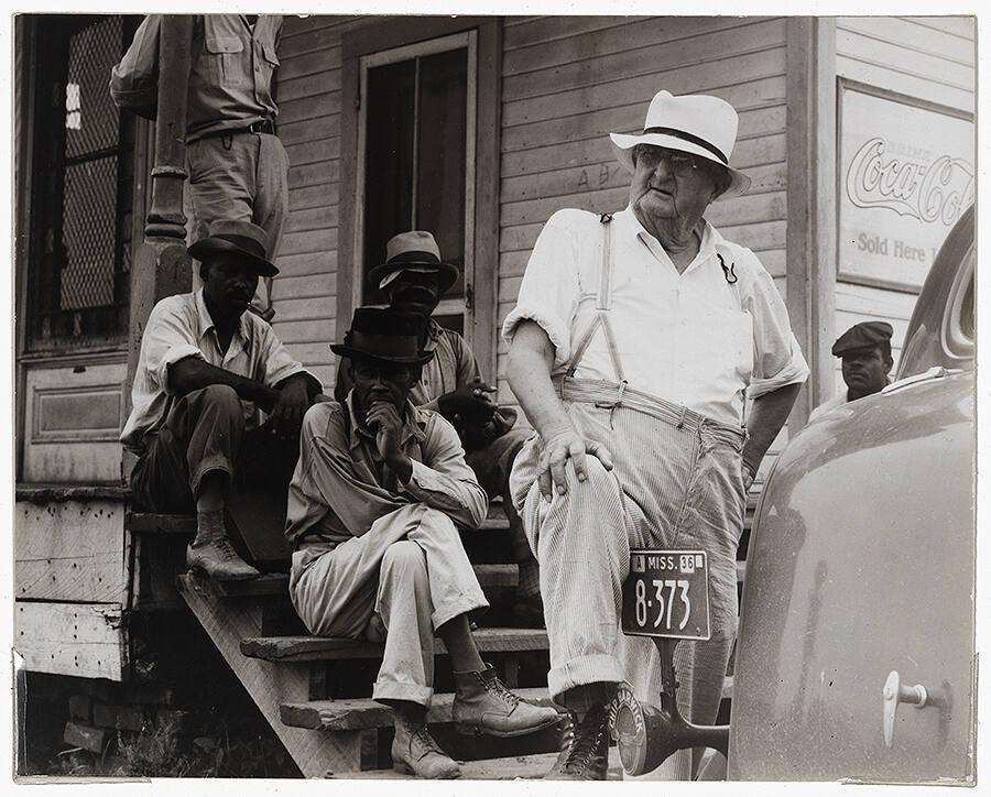 Plantation owner, Mississippi Delta, near Clarksdale, Miss.