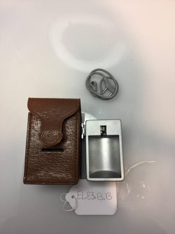 Flash Unit with leather case