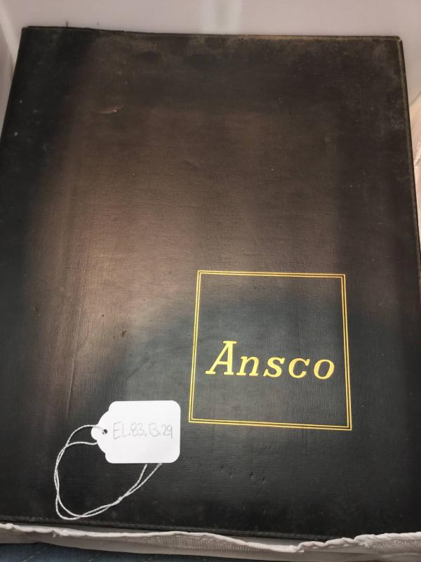 Ansco Portfolio, The Future of Photography in Color