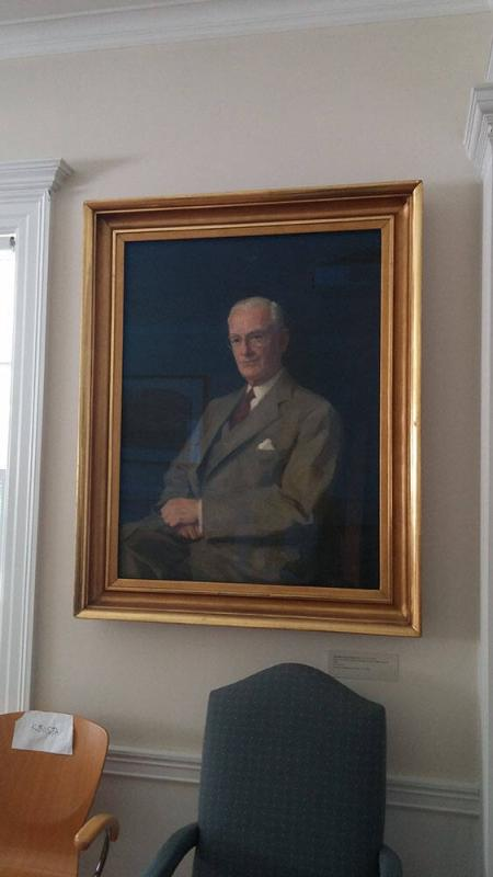 Portrait of Charles Dennison Makepeace (1875-1960), Class of 1900, Treasurer of Williams College 1935-1950