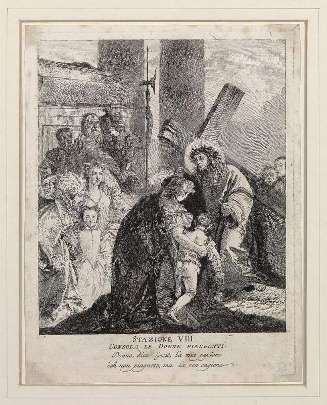 The Eighth Station of the Cross
