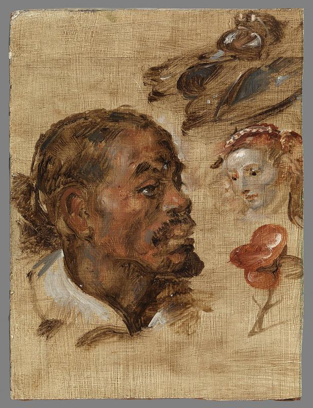 "Head (Copy after Rubens' ""Unknown Man (Negro's Head)"", Brussels)"