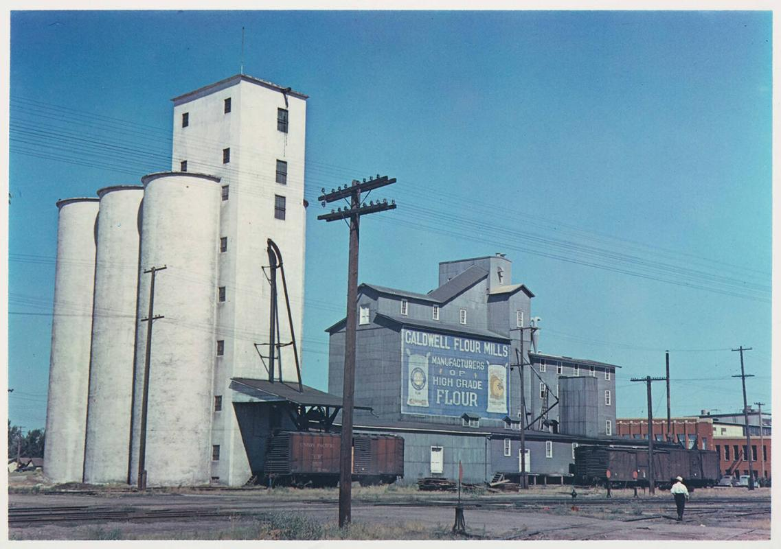 Grain Elevators, Caldwell, Idaho