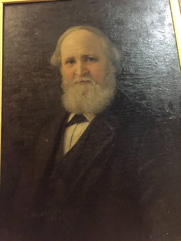Portrait of William Dwight Whitney (1827-1894), Class of 1845