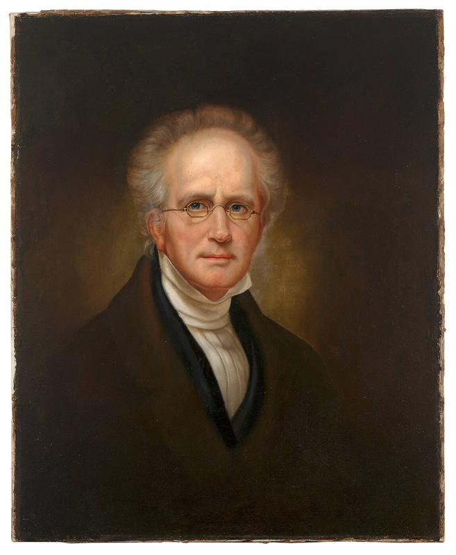 Portrait of Rembrandt Peale (Copy after Self-Portrait by Rembrandt Peale, 1850)