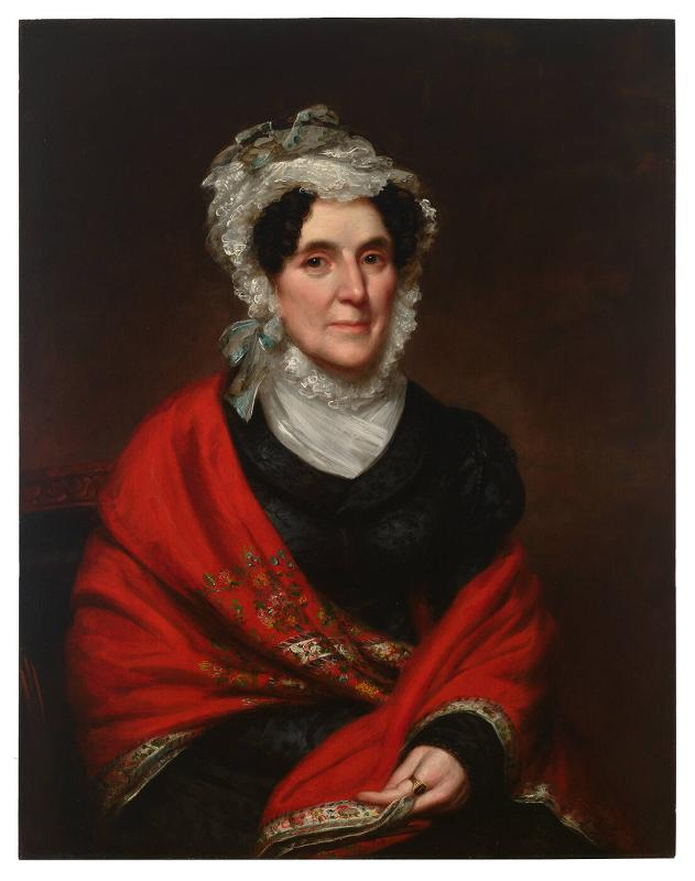 Portrait of Frances Louisa Huntington Griffin (1769-1837)