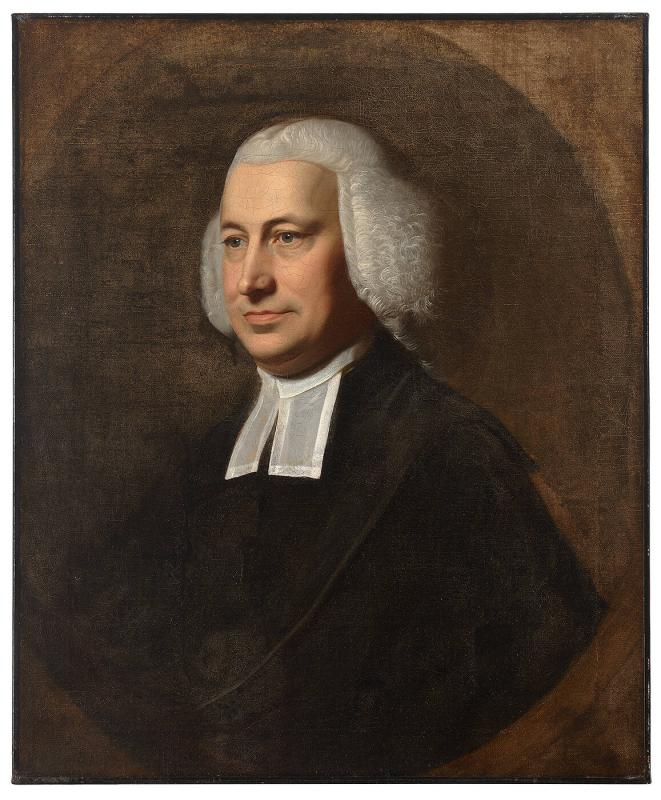Portrait of Rev. Samuel Cooper (1725-1783), Pastor of Brattle Square Church, Boston (attributed)