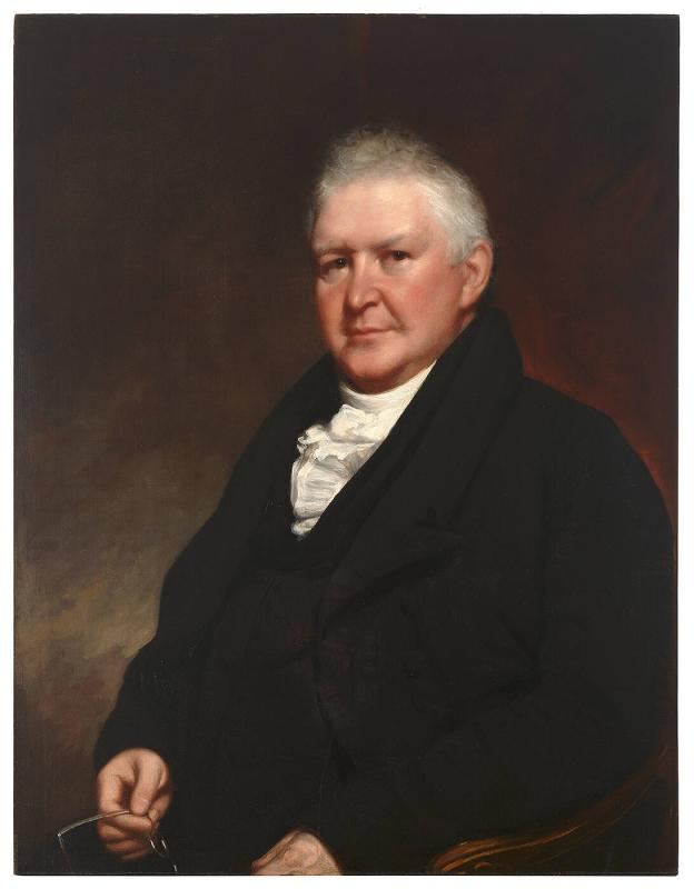 Portrait of Edward Dorr Griffin (1770-1837), Third President of Williams College 1821-36, Professor 1808-22